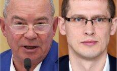 Raidījums: Lembergs pārmet Jurašam 'oligarhu lietas' novilcināšanu; konkrētas sarunas neatceras
