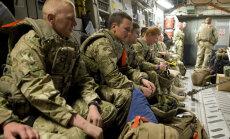 Baltijā uz militārām mācībām ierodas arī 100 britu karavīri