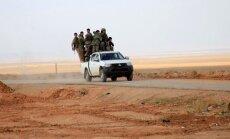Sīrijas valdības spēki tuvojas vienam no pēdējiem nemiernieku atbalsta punktiem Alepo provincē