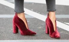 Шнурки, мех и красный цвет: главные обувные тенденции сезона