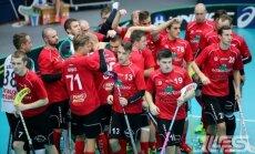 Čempione 'Lielvārde/FatPipe' pārtrauc 13 uzvaru sēriju Latvijas florbola čempionātā