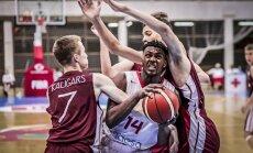 Latvijas U-16 izlase ar zaudējumu spāņiem noslēdz Eiropas čempionāta grupu turnīru
