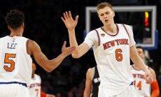 Porziņģis cer, ka uzvara pār Bertānu un 'Spurs' palīdzēs 'Knicks' saglābt sezonu