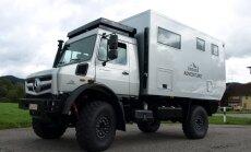 'Zieglera mašīnbūve' Daugavpilī sāk ražot 'mājas uz riteņiem'
