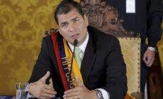 Ekvadora: Snoudena likteni izlems Krievija
