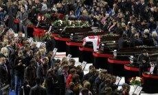 'Lokomotiv' aviokatastrofā bojāgājušo hokejistu tuvinieki saņēmuši apdrošināšanas izmaksas 90,5 miljonu rubļu apjomā