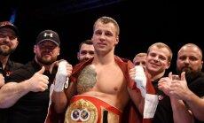 Maira Brieža nākamais pretinieks ringā varētu būt pazīstamais Vācijas bokseris Huks