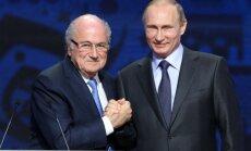 Блаттер: ФИФА серьезно прессовали, чтобы чемпионат не достался России