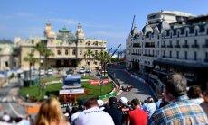 'Red Bull' piloti Rikjardo un Verstapens dominē Monako treniņbraucienu pirmajās sesijās