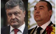 Luhanskas 'republikas' līderis izsauc Porošenko uz divkauju