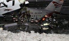 Visu trīs 'TU-204' avārijā izdzīvojušo veselības stāvoklis stabilizējies