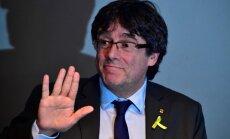 Pudždemons aicina Spāniju atbrīvot politieslodzītos un apspriest Katalonijas neatkarības jautājumu