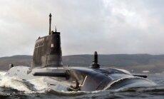 Latvijas robežas tuvumā novēro Krievijas bruņoto spēku zemūdeni