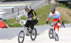 Eiropas kausa BMX septītajā posmā latviešiem sešas godalgas; Veide ceturtais