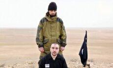 'Daesh' džihādists nogriezis galvu Krievijas izlūkdienesta aģentam
