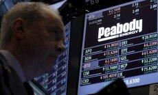 ASV vadošais akmeņogļu ieguvējs 'Peabody' iesniedz bankrota pieteikumu