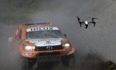 Foto: Argentīnā sācies smagais, bīstamais, bet skaistais Dakaras rallijs