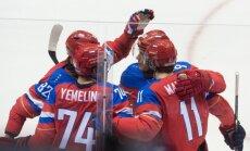 Fāzels: Krievijas vīriešu izlases hokejistu Maklārena sarakstā nav