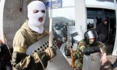 Pirms kaujinieki pamet ieņemtās ēkas, Kijevas valdībai jāatkāpjas, pieprasa separātisti