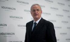 Vācijā sāk izmeklēšanu pret bijušo 'Volkswagen' vadītāju par tirgus manipulācijām