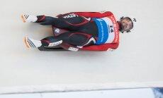 Kamaniņu braucējam Kivleniekam sestā vieta Pasaules kausa posmā Siguldā