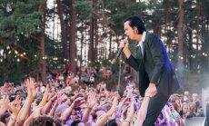Ar Nika Keiva un 'The Bad Seeds' koncertu noslēdzies 12. 'Positivus' festivāls. Teksta tiešraides arhīvs