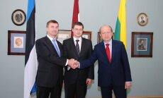 Baltijas premjeri nolemj kopuzņēmumu AES projektam veidot pēc referenduma Lietuvā