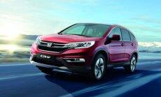 'Honda CR-V' modernizētā versija Eiropas tirgum