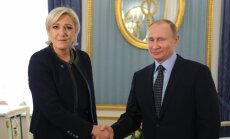 Предвыборная дипломатия: зачем Ле Пен приезжала в Россию