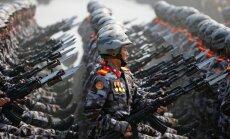 Ziemeļkorejas medijs brīdina par 'lielā kara' tuvošanos