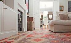Estētiski un praktiski – kā telpā izvietot paklāju