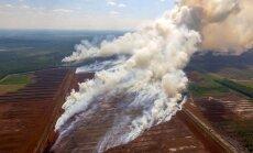 Латвия запросит помощь у всего Евросоюза, чтобы потушить пожар под Талси