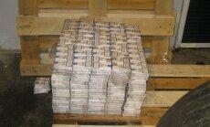 Pēdējās dienās VID liedzis ievest 1,75 miljonus kontrabandas cigarešu