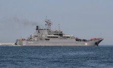 NATO līderu tikšanās laikā pie Latvijas robežas pamana Krievijas kuģi