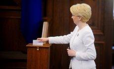 Foto: Kā Saeimā vēlē jauno Valsts prezidentu