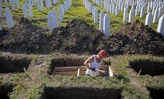ANO Drošības padomē notiks balsojums par Srebrenicas slaktiņa rezolūciju