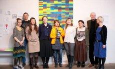 Foto: Akcijas – diskotēkas 'Cits Purvītis 2013/2014' balvu saņēmusi Izolde Cēsniece