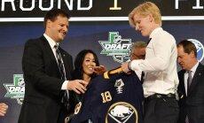 'Sabres' NHL draftā ar pirmo numuru izvēlas zviedru aizsargu Dālinu