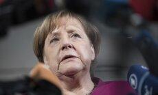 Irānas kodolvienošanās nav pietiekama Teherānas kodolambīciju apturēšanai, uzskata Merkele