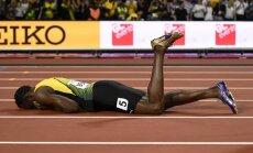 Bolts nefinišē 4x100 m stafetē, pasaules čempionu titulu izcīna Lielbritānija