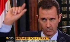 Sīrijas konflikts: ja ASV uzbruks Sīrijai, sagaidāms ir viss, draud Asads