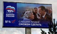 Arī Rīgā aktīvi vēlē Krievijas Valsts domi