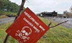 Doņeckas apgabalā mīnas sprādzienā smagi cietuši deviņi bērni