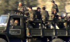 Sīrijas nemiernieki paziņo, ka 'ir sākusies kauja par Damaskas atbrīvošanu'