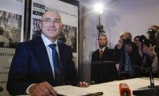 Hodorkovskis ieradies Šveicē
