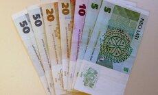 Līdz maija beigām no apgrozības izņemti 37,5% lata monētu un 94,7% banknošu