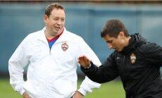 Cauņas pārstāvēto CSKA turpinās trenēt Sluckis
