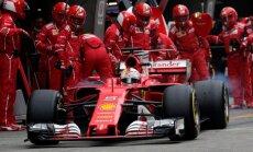 Fetels uzrāda ātrāko apļa laiku Bahreinas 'Grand Prix' treniņbraucienu pirmajā sesijā