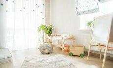 Pufs un vienvietīgais dīvāns: gaumīgas idejas bērnistabas atpūtas krēsliem