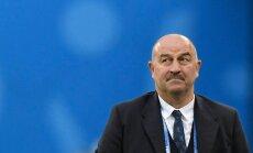 Čerčesovs: Krievijas futbola izlasei problēmu nav, nebija un nebūs